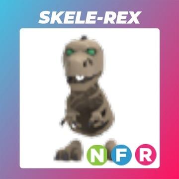 Roblox Adopt Me Neon Skele-Rex FR