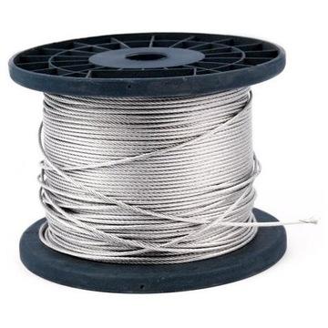 Linka stalowa w otulinie PCV 2-3mm 1zł za 1,5m