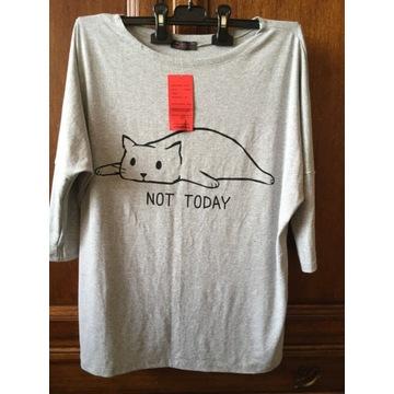 Bluzka z kotem m