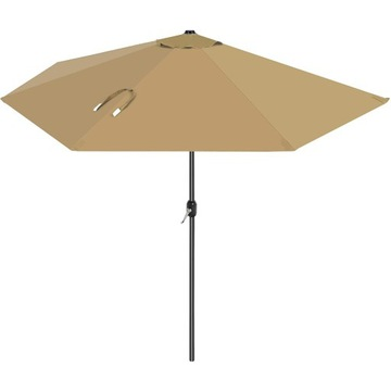 Parasol osłona długości 2,7m półokrągły beżowy