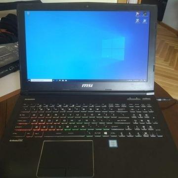 Laptop msi ge62