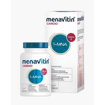 Menavitin Cardio 1-MNA  60 kaps  Mega Promocja