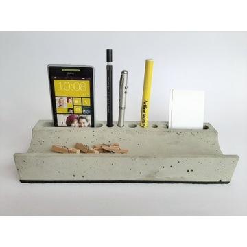 Betonowy przybornik na biurko organizer Forma71