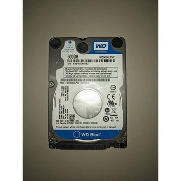 """Dysk WD Blue 2.5"""" 500GB 5400RPM WD5000LPVX"""