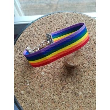 Tęczowa bransoletka LGBT