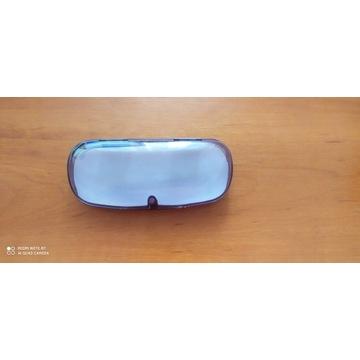 Etui na okulary, twarde, przeźroczyste