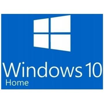 Windows 10 HOME PL 32/64 bit NOWY