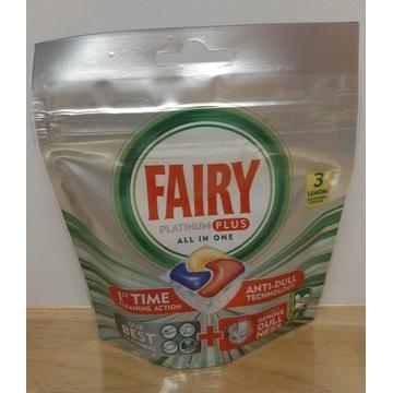 Tabletki do zmywarki FAIRY platinum plus lemon 3sz