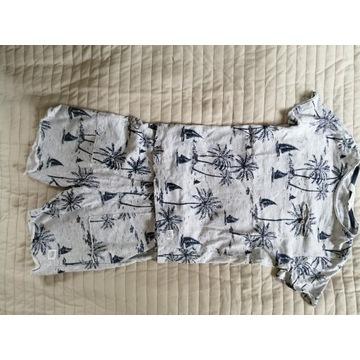 Krótkie spodenki, t-Shirt, komplet H&M, 122 cm