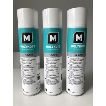 Molykote D-321R spray 400ml 3sztuki