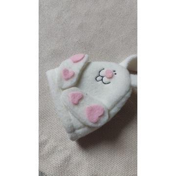 Zabawka maskotka królik szmaciana pacynka