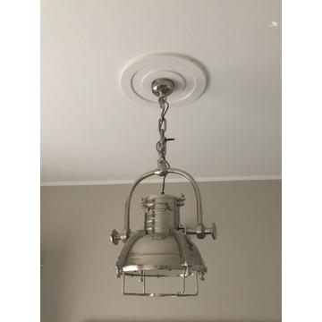 Lampa wisząca  chrom - Loft , industrialna