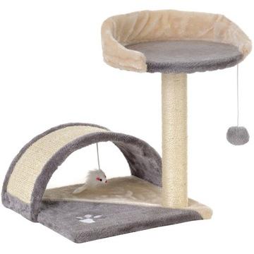 Drapak, legowisko dla kota z platformą obserwacyjn