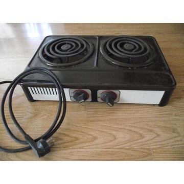2- płytowa kuchenka elektryczna 2000 W.