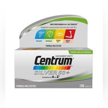 CENTRUM SILVER 50+ - 100 tabletek zestaw witamin