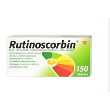 Rutinoscorbin 150 tabletek