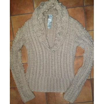 DKNY  Donna Karan City piękny sweterek M
