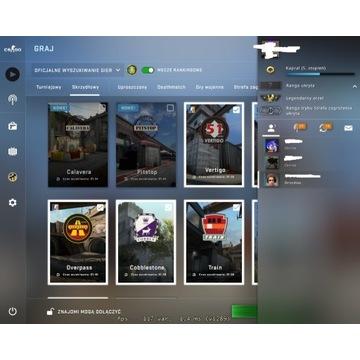 Steam CS:GO Cities:Skyline Faceit 5lvl PRIME 900h