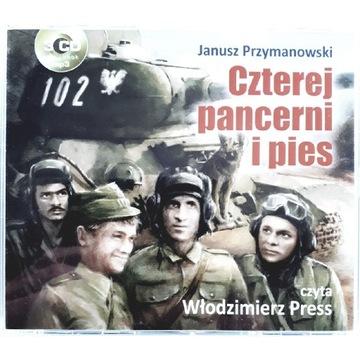 CZTEREJ PANCERNI I PIES 3CD Włodzimierz Press