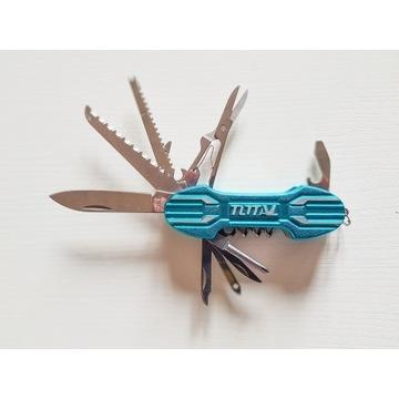 Nóż uniwersalny TOTAL , (scyzoryk) 11 narzędzi