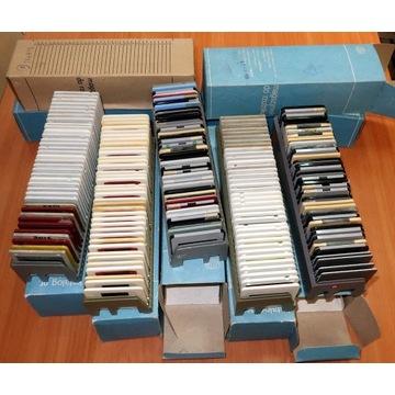 Magazynki z ramkami do rzutnika Diapol. Używane