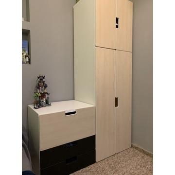 IKEA meble STUVA dziecięce, szafa, szafki z szufla
