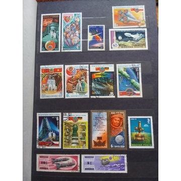 Znaczki pocztowe - kosmos