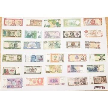 Banknoty z całego świata !!!