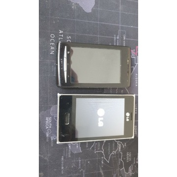 Soni Ericsson E15i + LG-E400