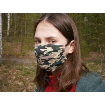 Maska maseczka MORO bawełna rozm. M jednowarstwowa