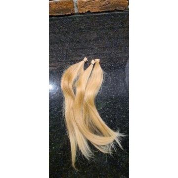 Włosy dziewicze (kolor #10) 30cm 38gr