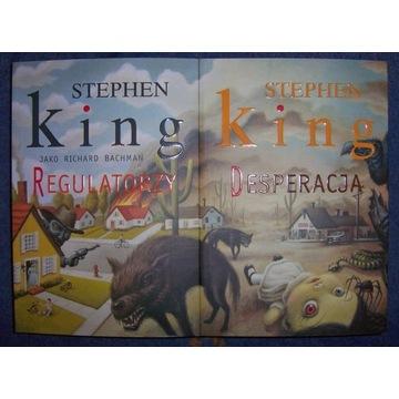 STEPHEN KING REGULATORZY + DESPERACJA