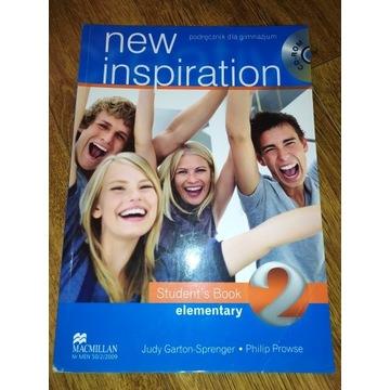 New Inspiration 2 Podręcznik do angielskiego