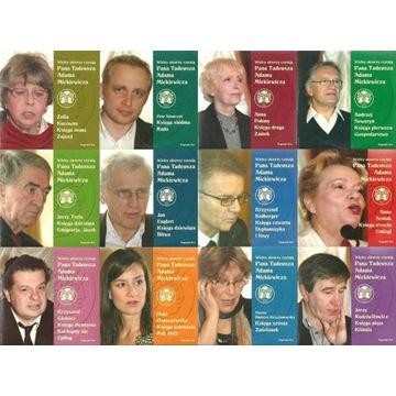 Wielcy aktorzy czytają Pana Tadeusza 12xCD