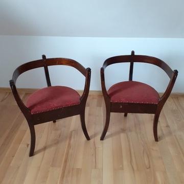 Krzesła narożne, kątniki, antyki