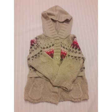 Sweter dla dziewczynki 98 cm 2-3 lata