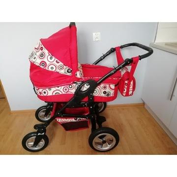 Wózek 2w1. Gondola, spacerówka+nosidełko gratis