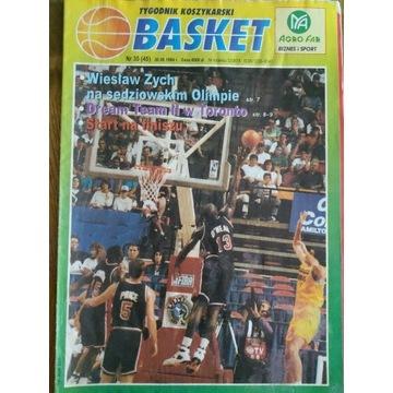 Tygodnik Koszykarski BASKET nr 35 (45) 30.08.1994