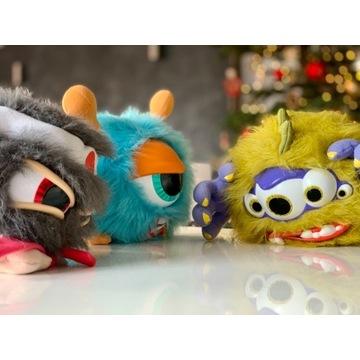 Brzydale zestaw - 3 x zabawka, maskotka - Hit TV!