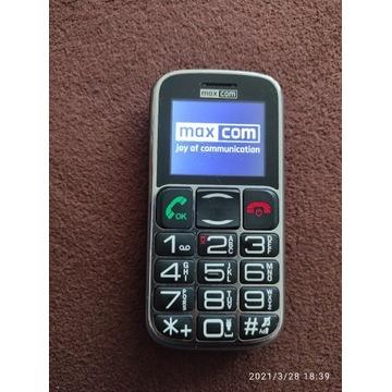 Telefon dla seniora. MAXCOM.
