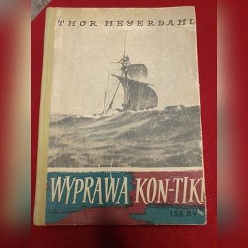 Wyprawa Kon-Tiki, Thor Heyerdahl, rzadkość!!!