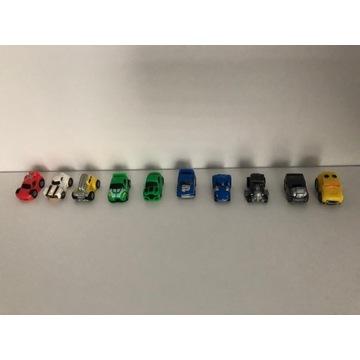 Squinkies gumowe figurki samochody.10szt.