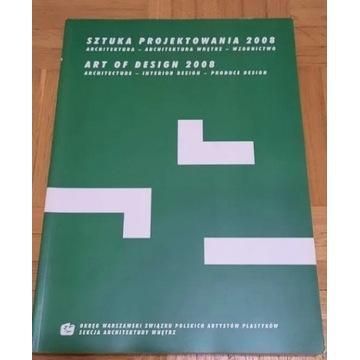 """Książka """"Sztuka projektowania 2008"""" - stan idealny"""