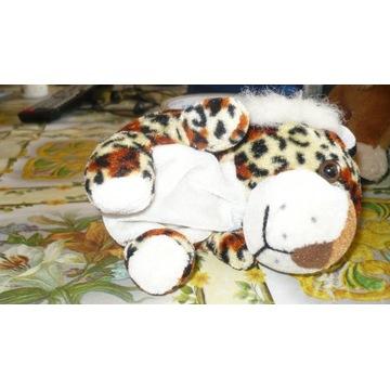 Maskotka - tygrys z rozsuwanym plecaczkiem