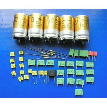 kondensatory ROE, WIMA do wzm. tranzystorowych