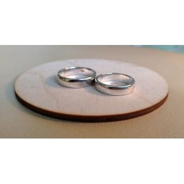 Własnoręcznie wykonane srebne obrączki