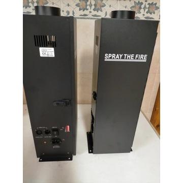 Wyrzutnia ognia, wytwornica ognia, sterowanie dmx