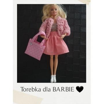 WZORY - Torebka dla lalki Barbie i nie tylko...