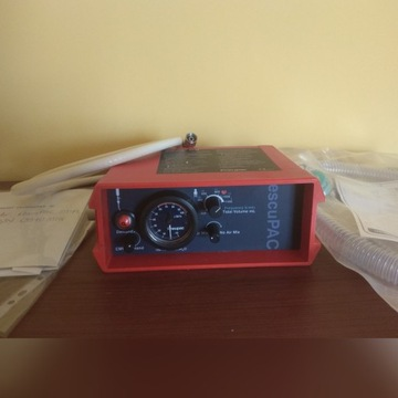 Respirator Parapac2D+przewód tlenowy+paszport tech
