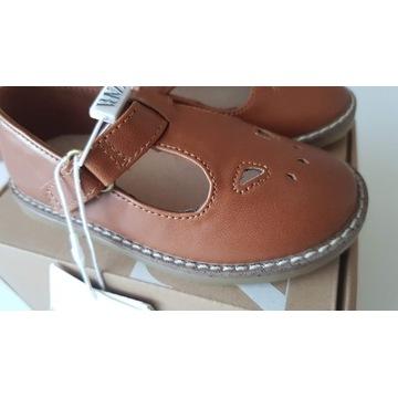Buty Zara półbuty sandały roz.22